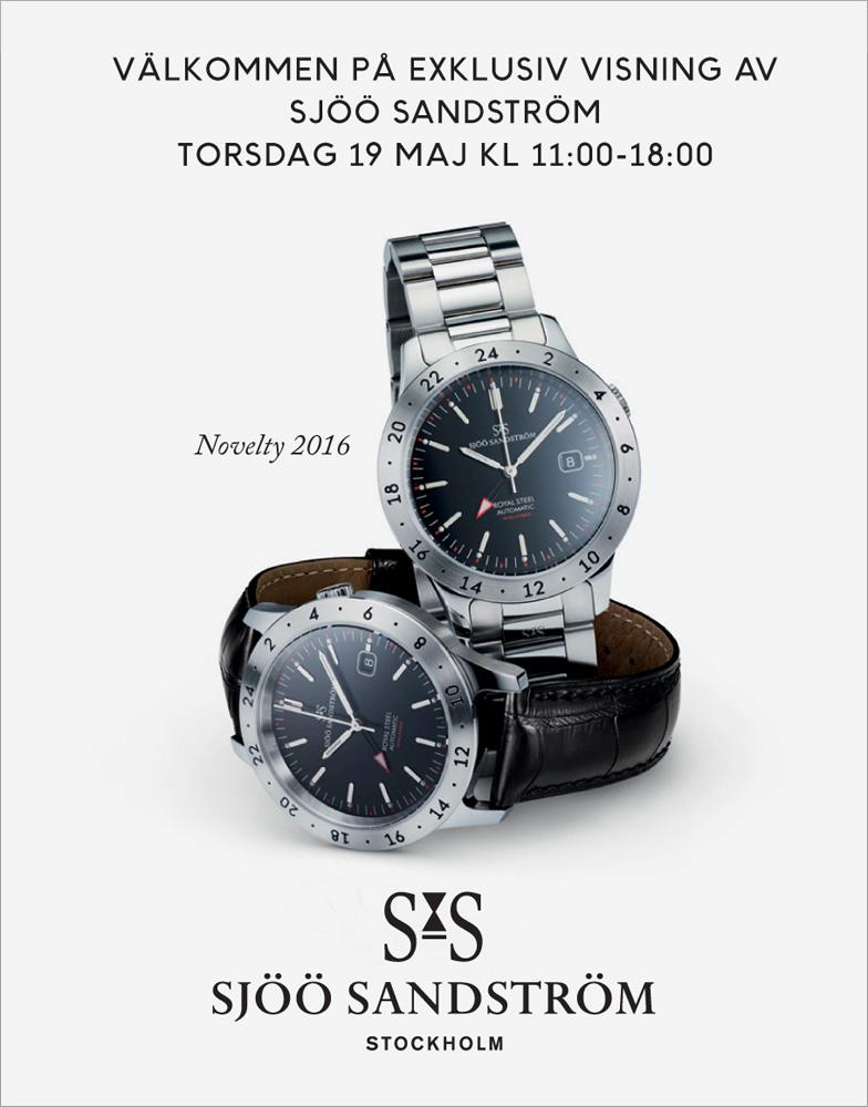 Sjöö Sandström Visning 19 maj